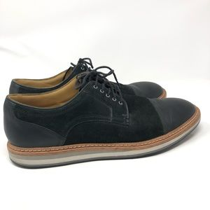 UGG Black Men's Oxford Shoes Size: 11.5""